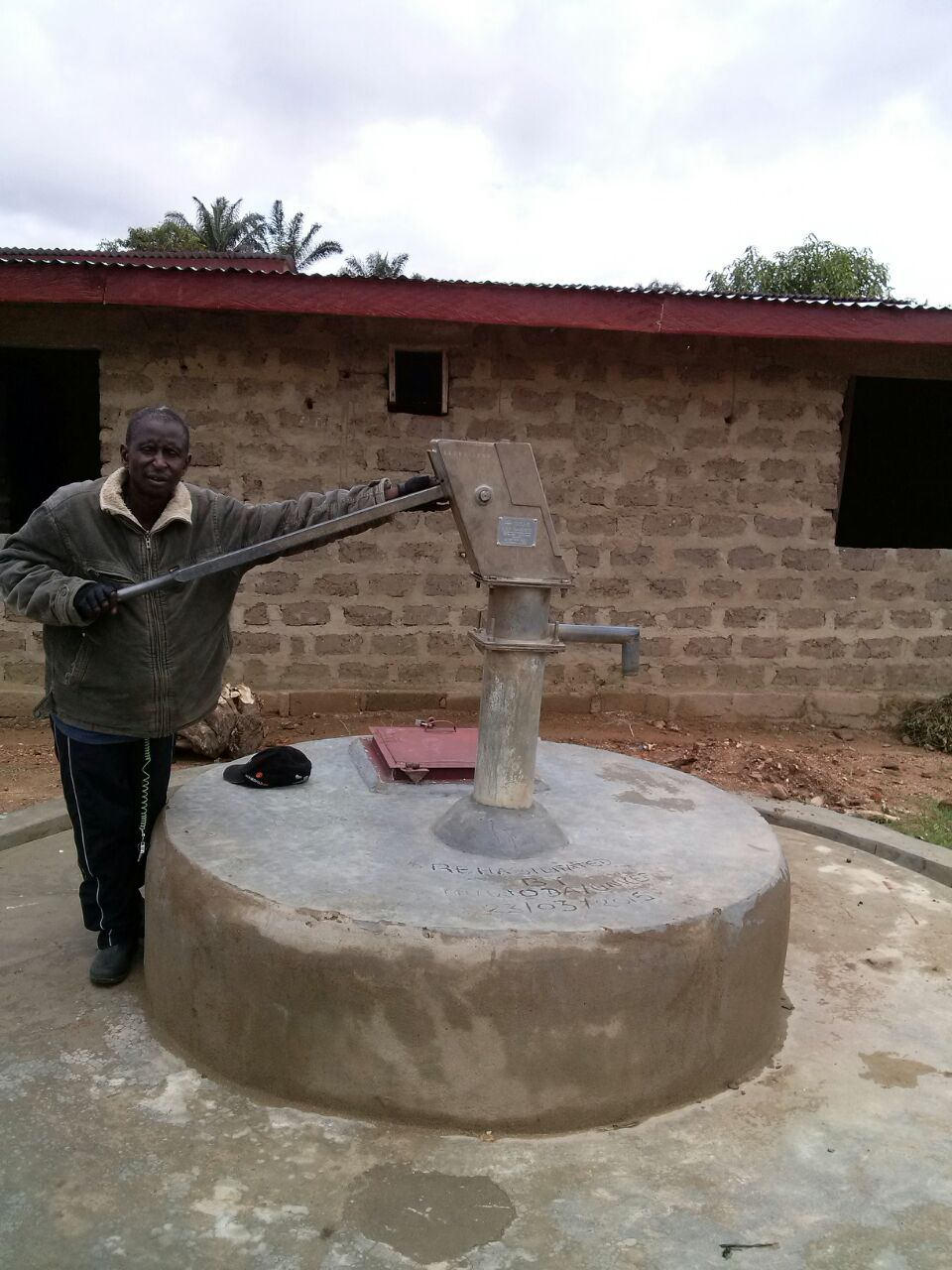 The new well will be similar to this one